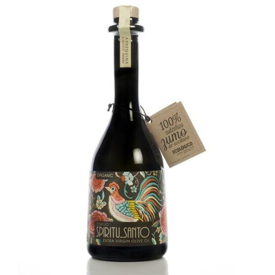cortijo espíritu santo arbequino botella rústica