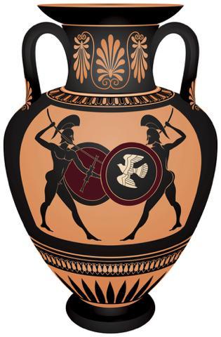 Ánfora griega para almacenar Aceite de Oliva