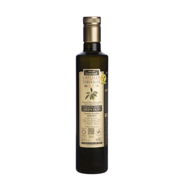Aove Castillo de Tabernas Green Olive 500 ml