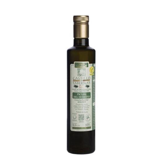 Aove 0,1 Castillo de Tabernas Picual del desierto 500 ml