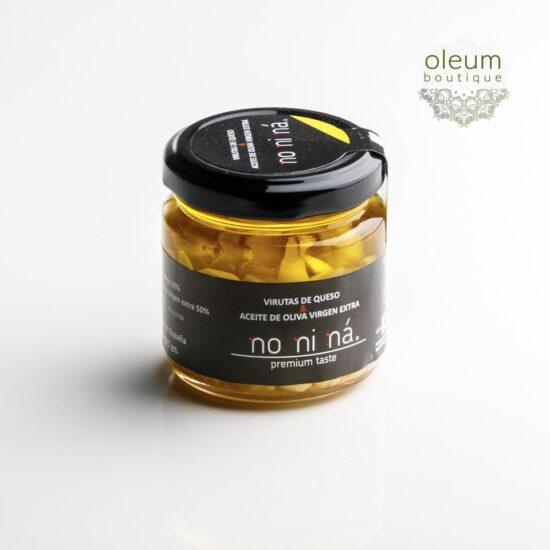 No ni ná Virutas de queso curado en Aceite de Oliva Virgen Extra