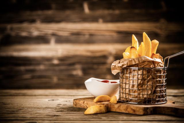 Patatas fritas en Aceite de Oliva Virgen Extra