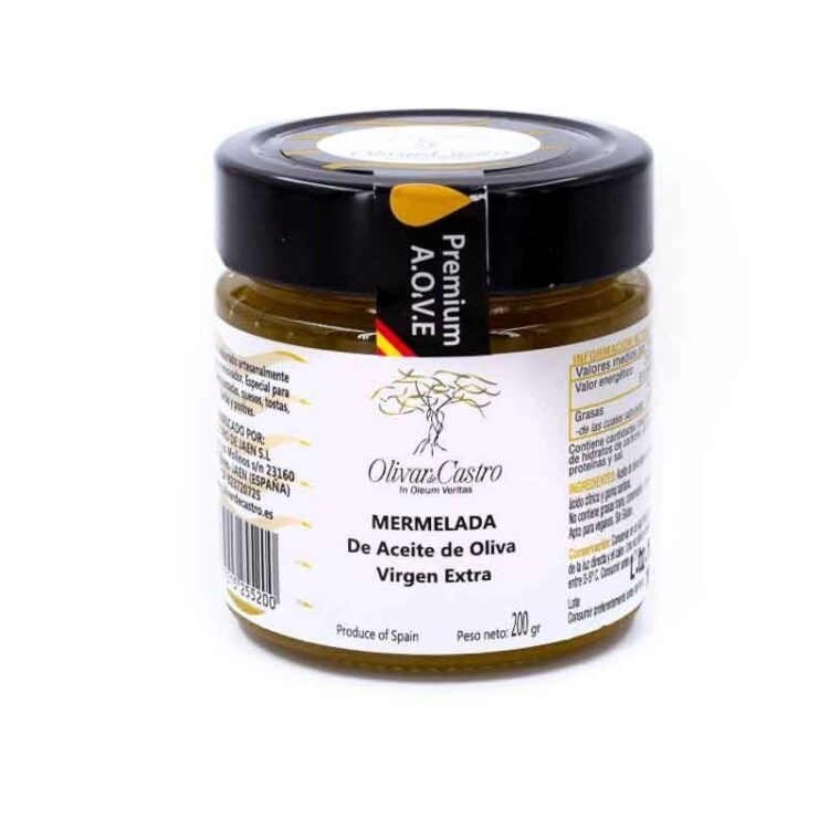 Mermelada de aceite de oliva virgen extra Olivar de Castro