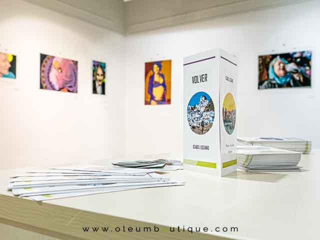Exposición de Isabel Lozano Artista Visual en Úbeda