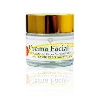 Crema Facial Hidronutritiva Antiarrugas de aceite de oliva virgen extra