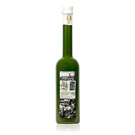 Aceite de oliva virgen extra cornezuelo de Jaén Supremo