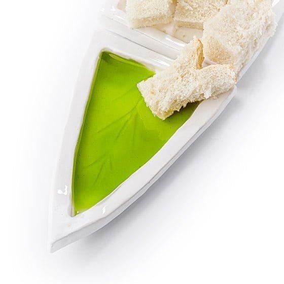 Platillos degustacion tres aceites Aove Premium
