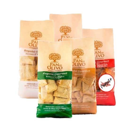 Regañá Gourmet PAN de OLIVO Pack Degustación