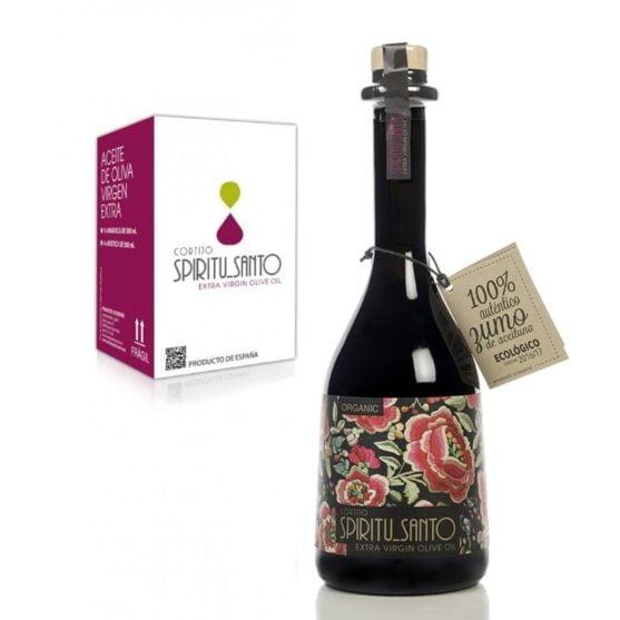 Cortijo Spiritu Santo Rústica Aceite de oliva virgen extra picual 500 ml 4 botellas